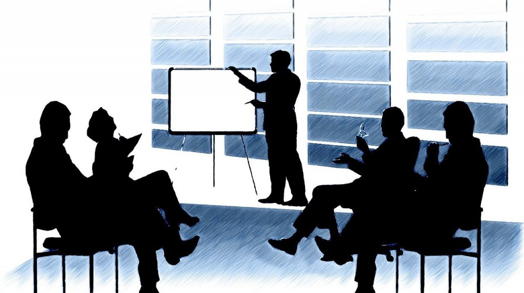 Meeting, Assessment Center, Flipchart, Bewerbung